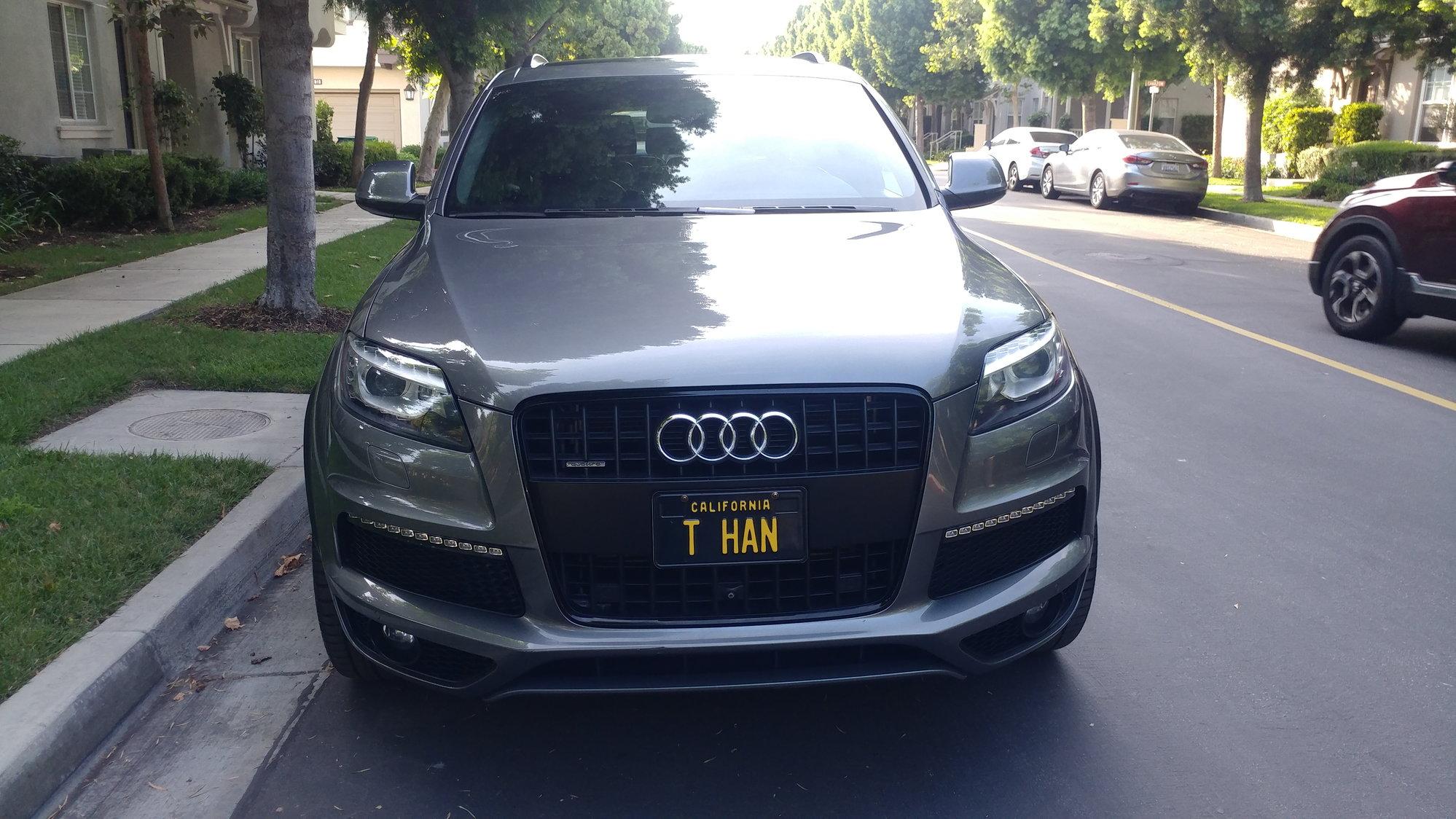 Audi Q7 FS in CA SoCal Audi Q7 2014 S-Line Prestige - AudiWorld Forums