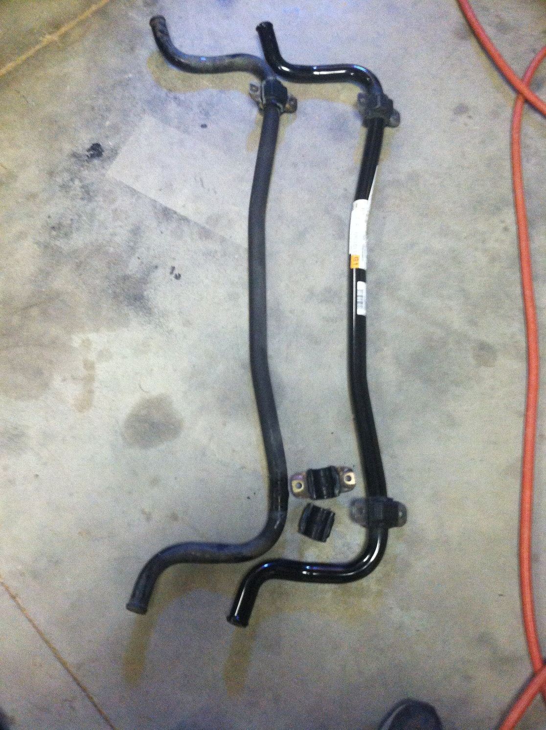 upgraded sway bar to S8 version - AudiWorld Forums