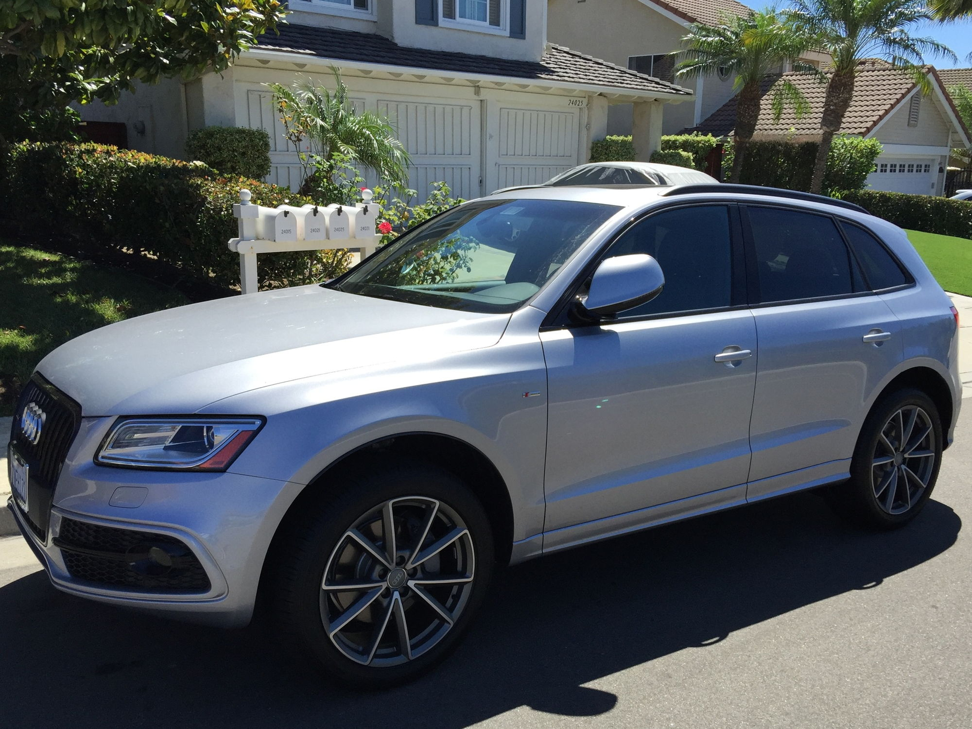 2016 audi q5 3 0t in florett silver w black optics package audiworld forums. Black Bedroom Furniture Sets. Home Design Ideas
