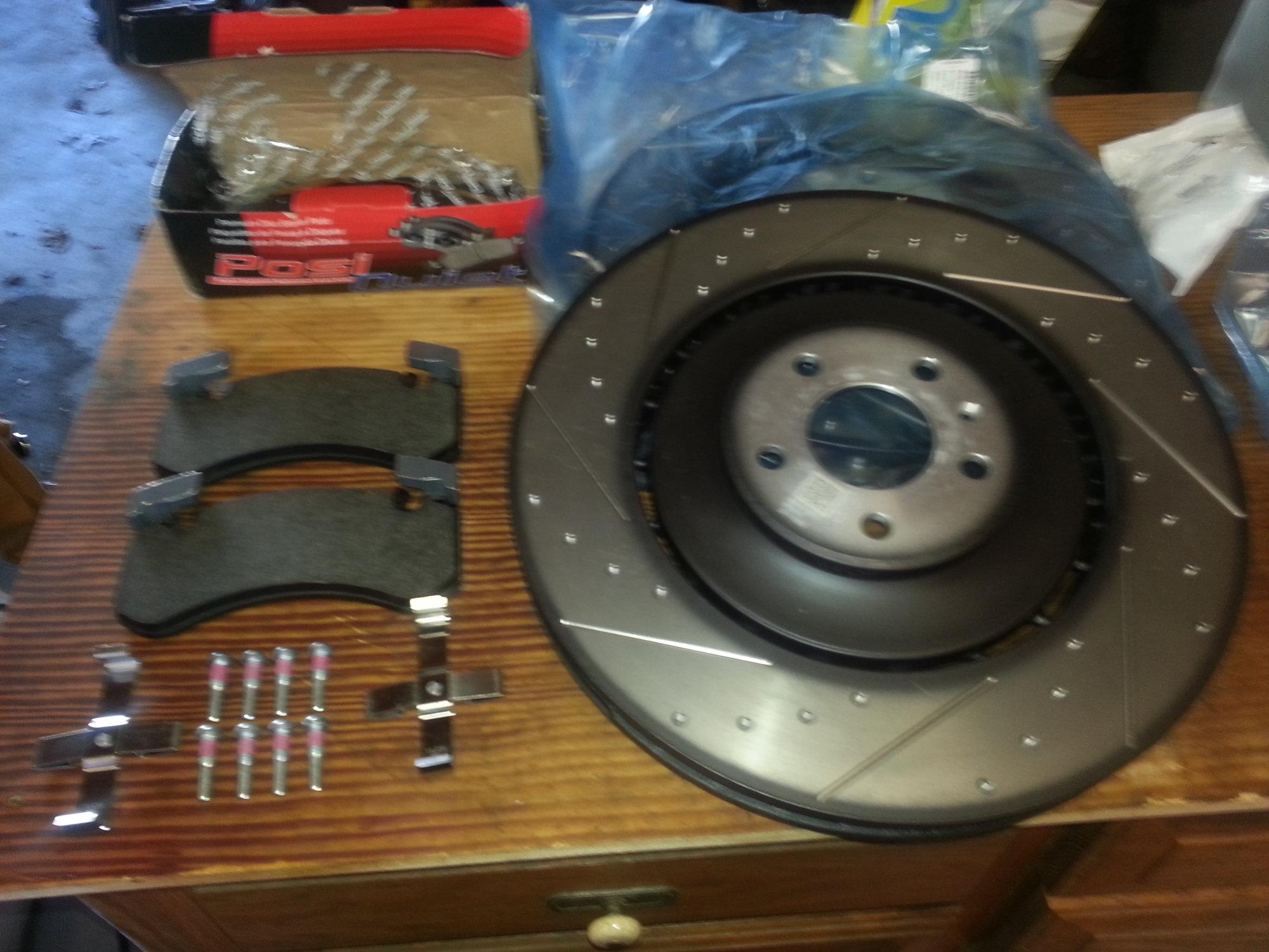 REAR Brake Rotor Pair of 2 Fits 05-11 Audi A6 Quattro