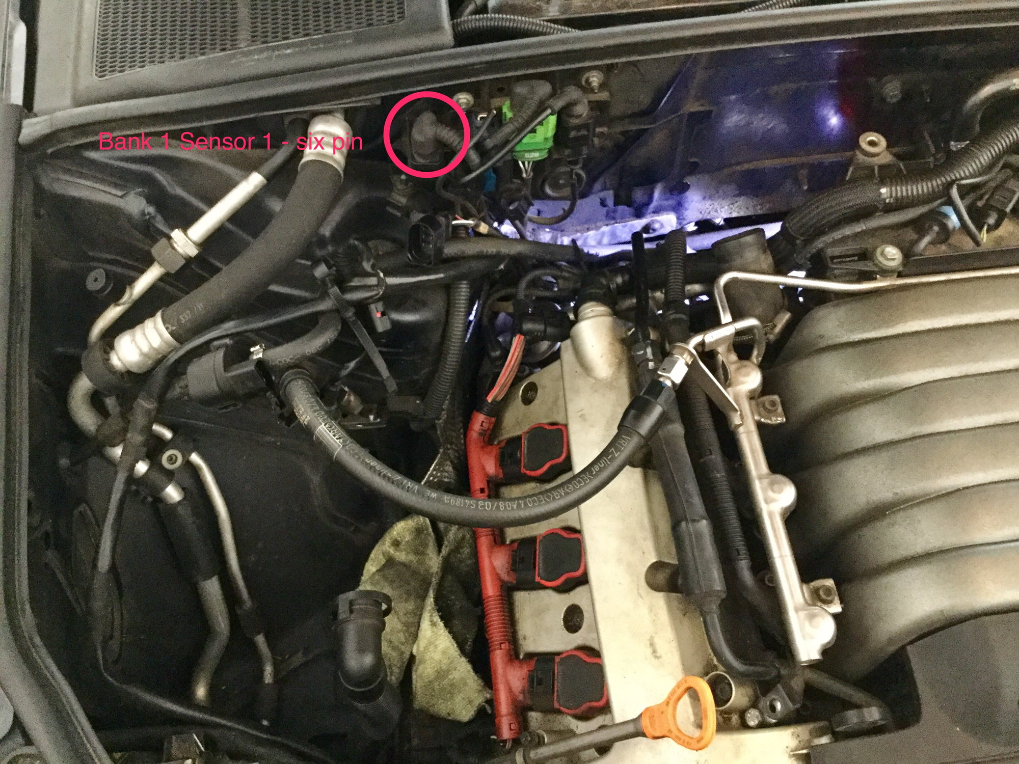 Replacing Upstream Oxygen O2 Sensor On 3 0l A4 Audiworld Forums