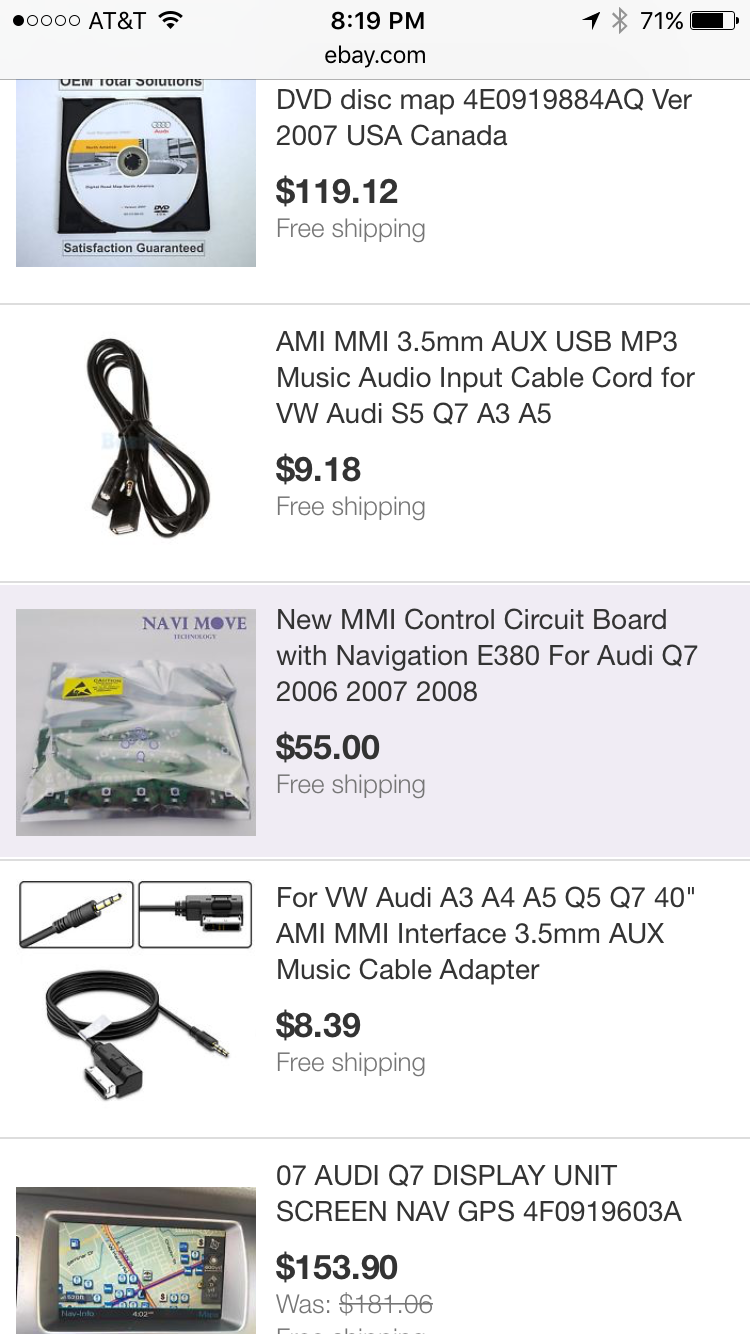 MMI dead, not sure where to go next - AudiWorld Forums