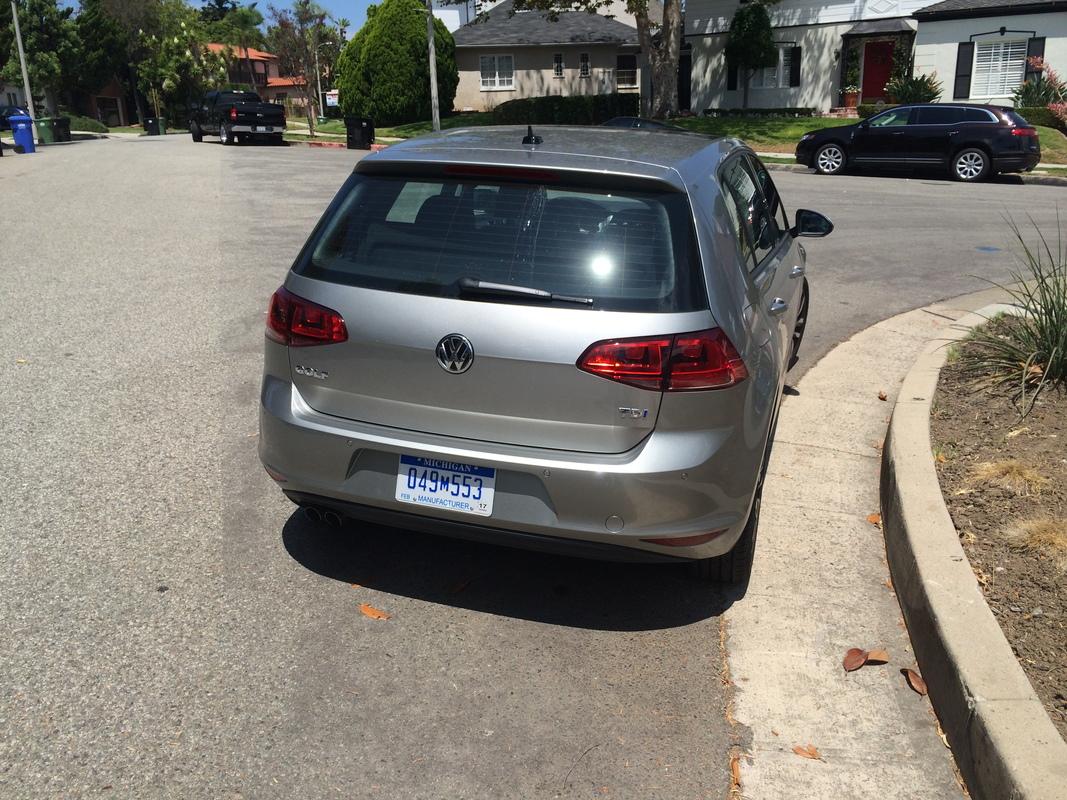 2015 Volkswagen Golf TDI Exterior Rearview