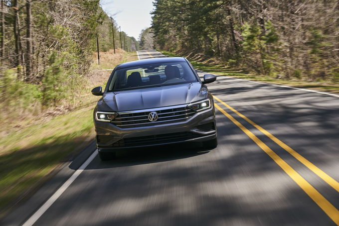 All New This Year The 2019 Volkswagen Jetta Offers Clean Proportions A Wide Range Of Safety Features Excellent Fuel Economy And Generous Warranty