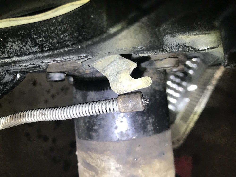 Rear Disc Brake Conversion parking brake cable question