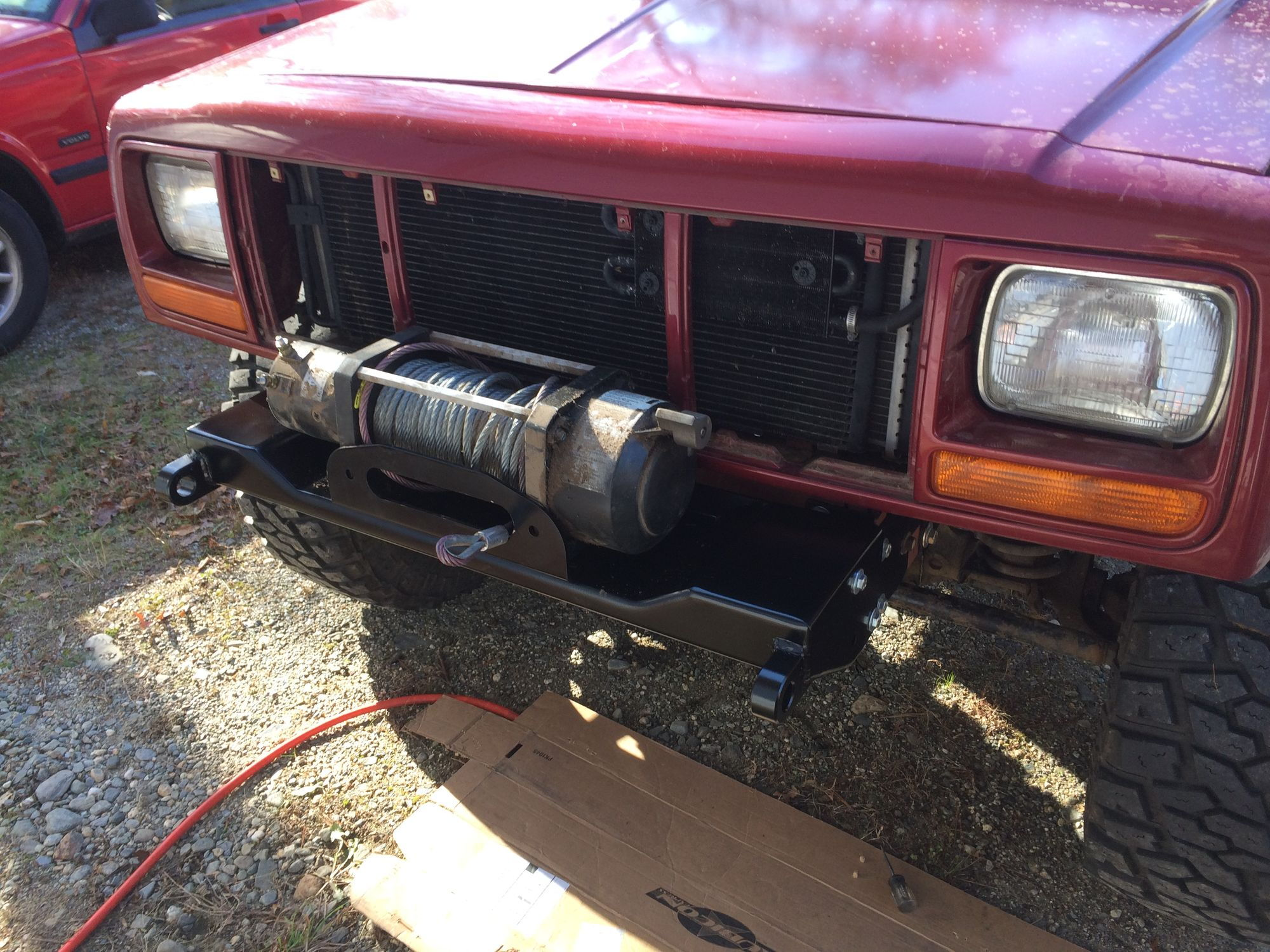 89 XJ Transmission Cooler Question - Jeep Cherokee Forum