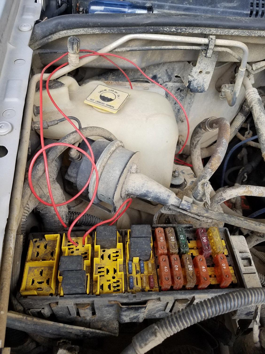 1998 Grand Laredo Fuel Pump Relay Intermittent Prob