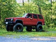 Garage - Red Cherokee