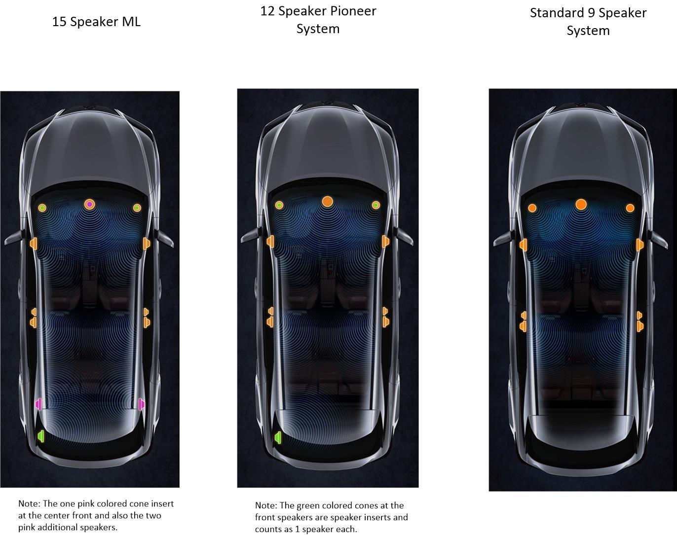 Mark Levinson     missing 3 speakers!!!! - ClubLexus - Lexus