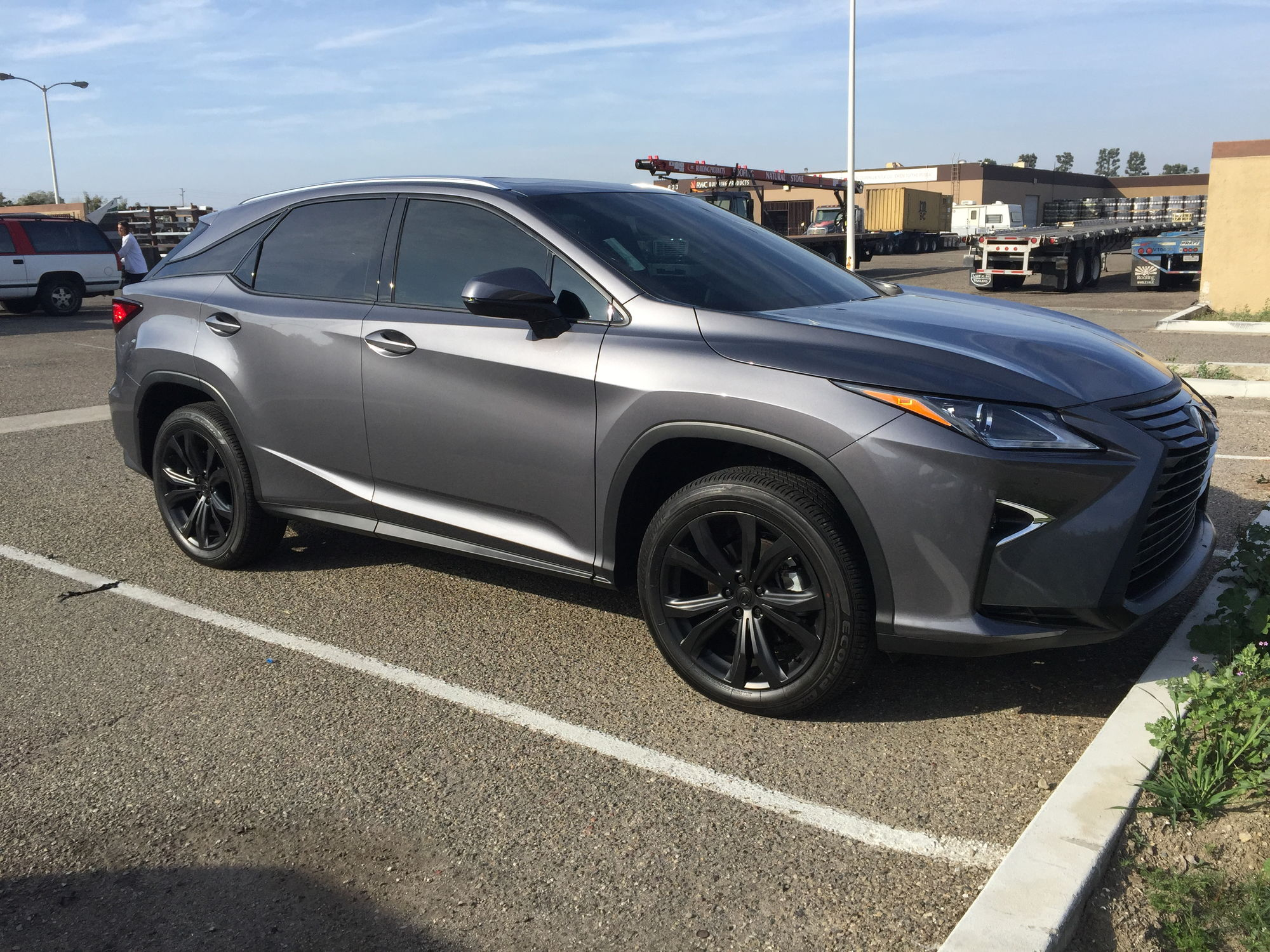 2016 lexus rx350 with plasti dip on chrome and wheels. Black Bedroom Furniture Sets. Home Design Ideas