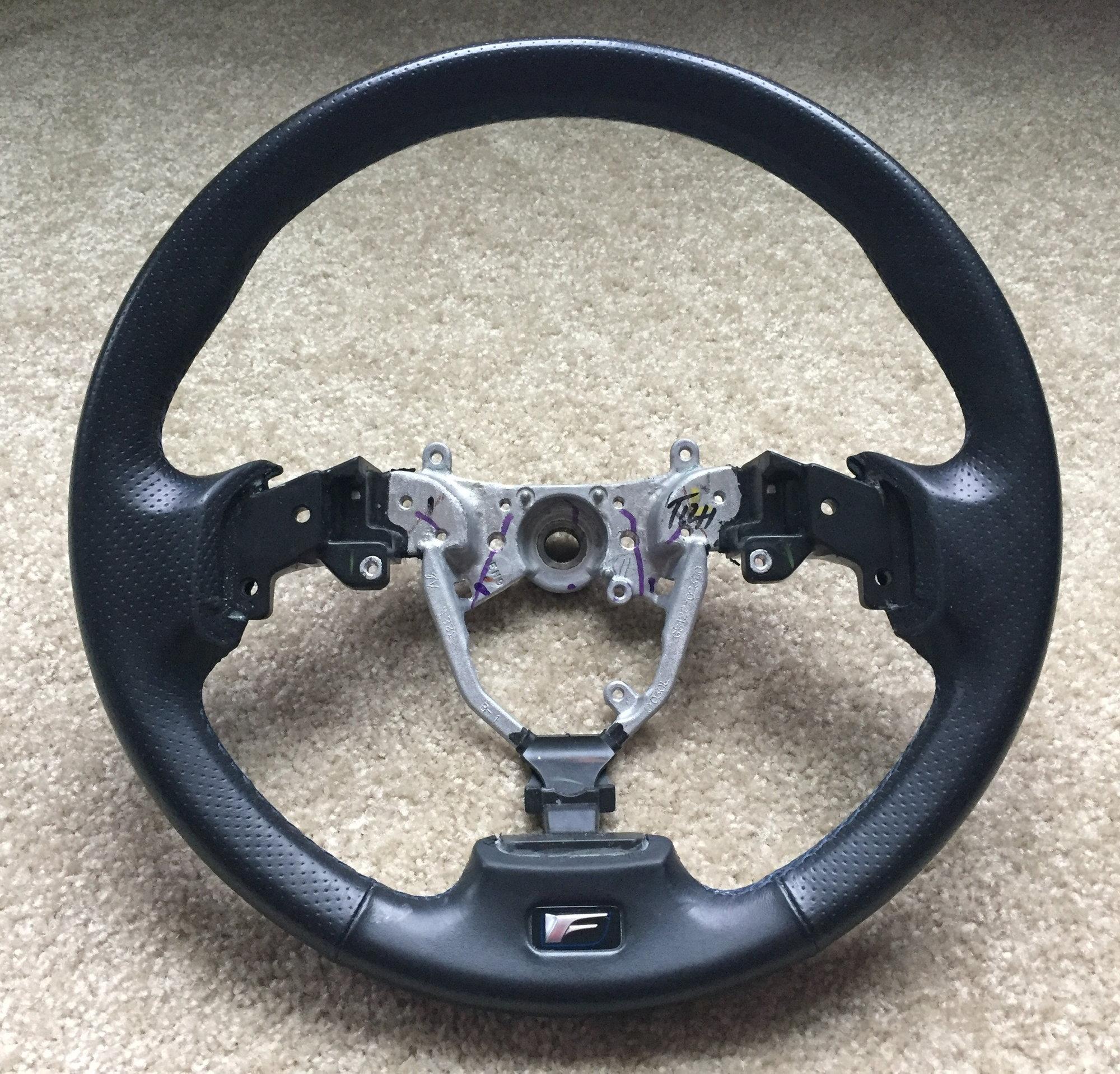 Lexus ISF Steering Wheel