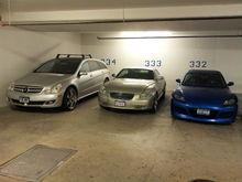 My Garage ! Blue sold !