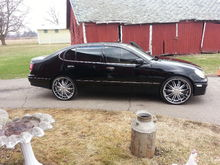 Just put the rims and got it detailed today