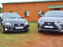 Lexus GS and NX
