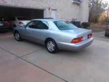 My 2000 Lexus LS400: Driver Side View