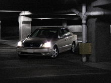 LS430 Parking Garae Photo Shoot