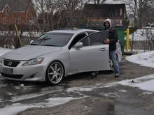 Barry's Lexus IS350
