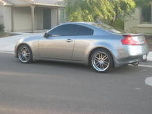 More G35 action with my TSW wheels