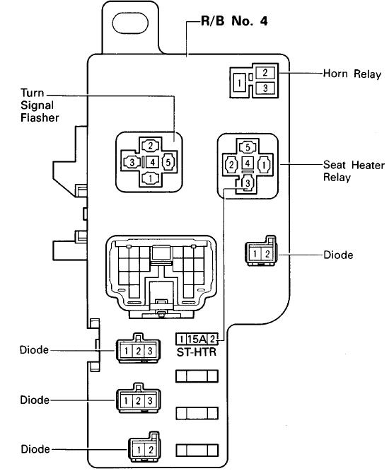 Diagram Relay Diagram Clublexus