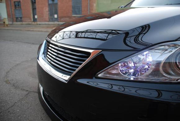 LX Mode grille, LED DRL's