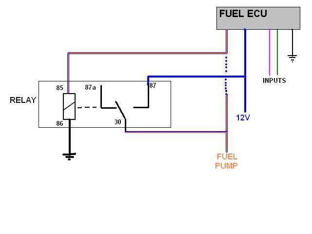 omc wiring diagrams fuel pump relay