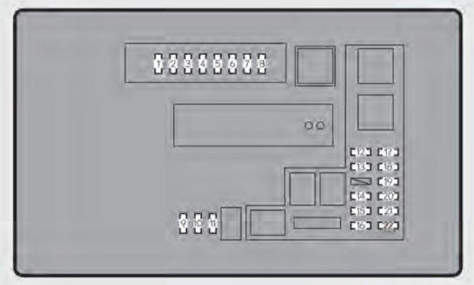 fuse location reference ▻ http://www autogenius info/lexus-gs3   e-box- diagram/