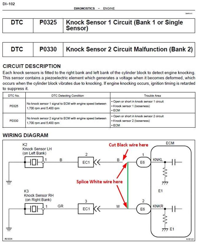 Looking For Ecm Pinout Ls430 For Knock Sensor Hack - Page 3 - Clublexus