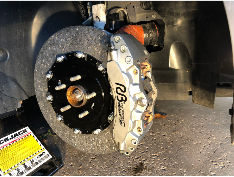 Front And Rear Ceramic Brakes For Lexus