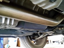 Took 10 minutes to install this zzp off road pipe and 10 hours to get the old one off.