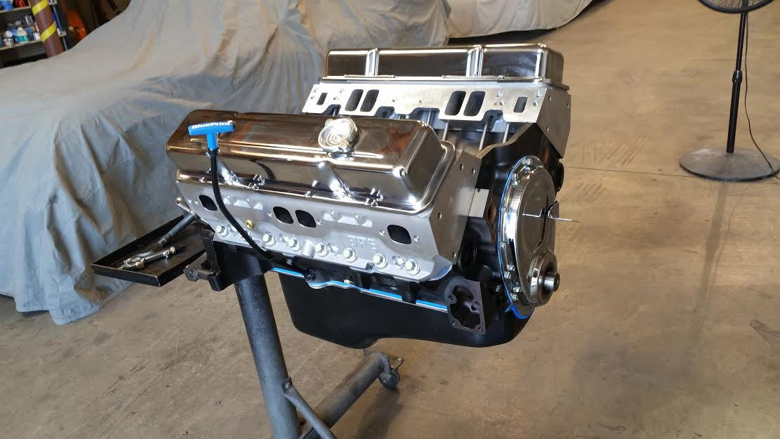 Blueprint engines give away at pri indy 2015 dec 10 12th blueprint engine after removing it from the crate malvernweather Choice Image