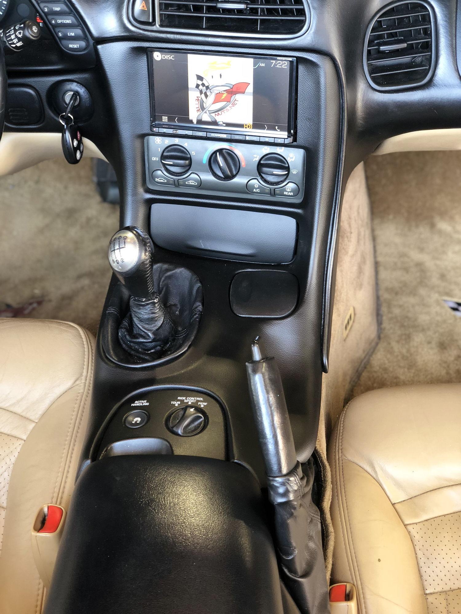 VetteNuts C5 Corvette Double Din Radio Bezel 1997-2004