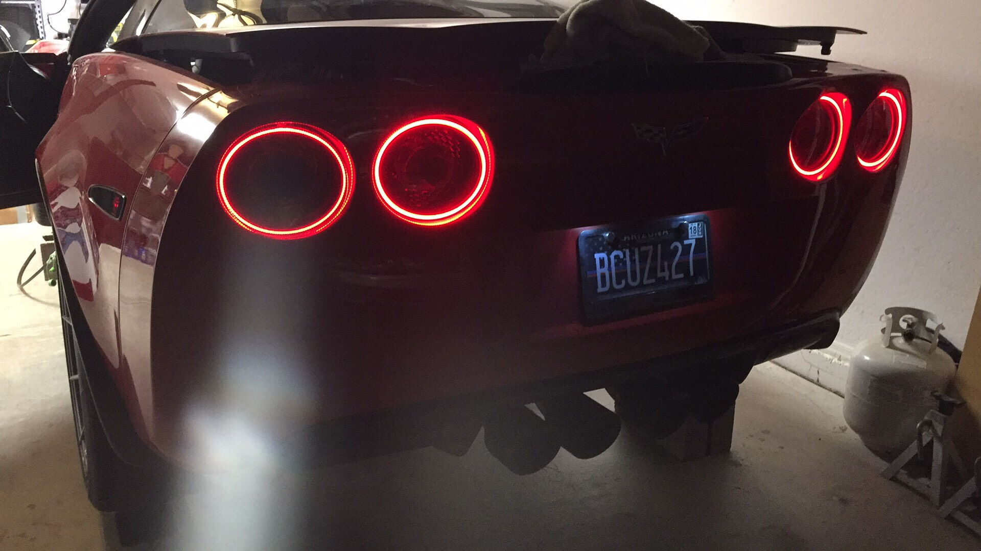 day com watch corvette light running custom lights youtube time thedoubleaa