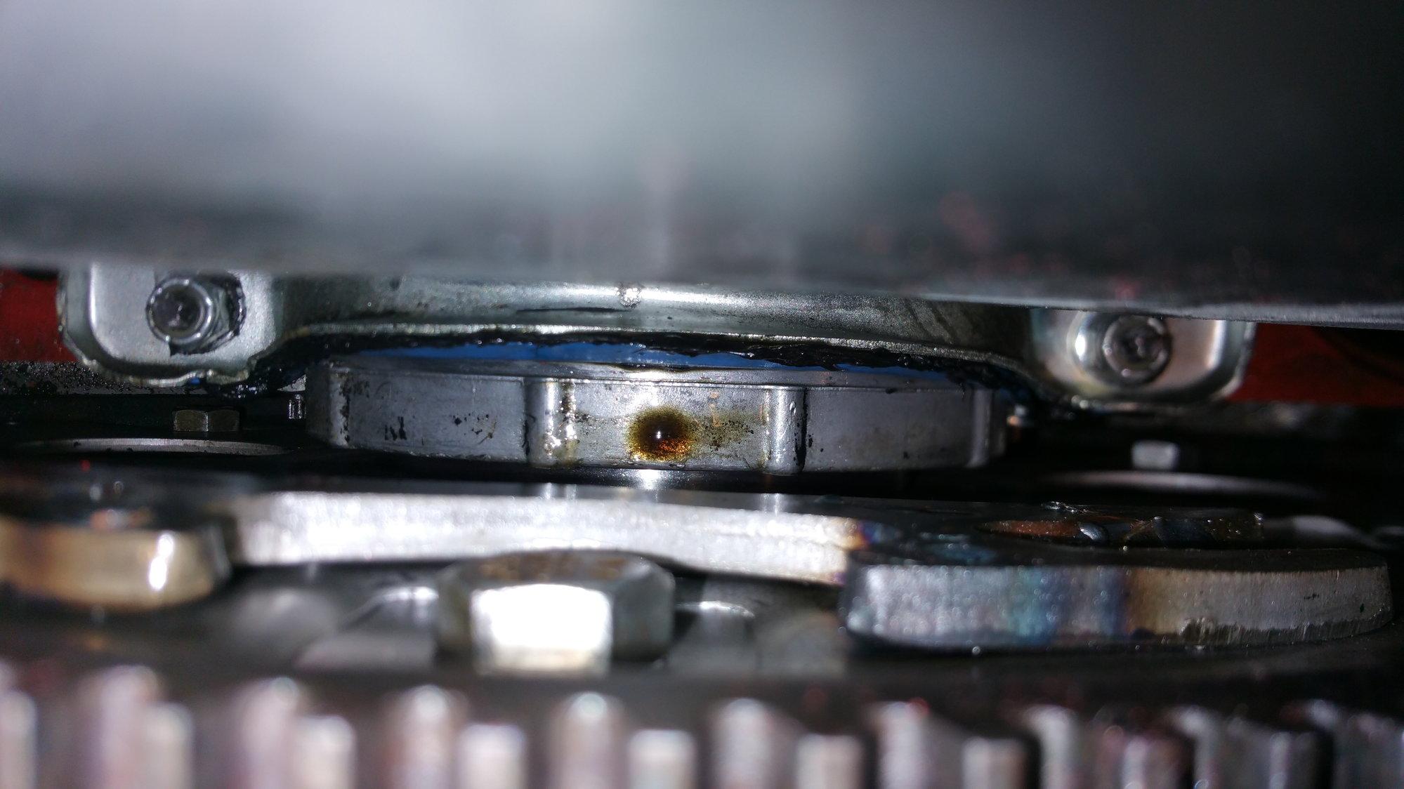 SBC One Piece Rear Main leak or remnants of oil pan leak