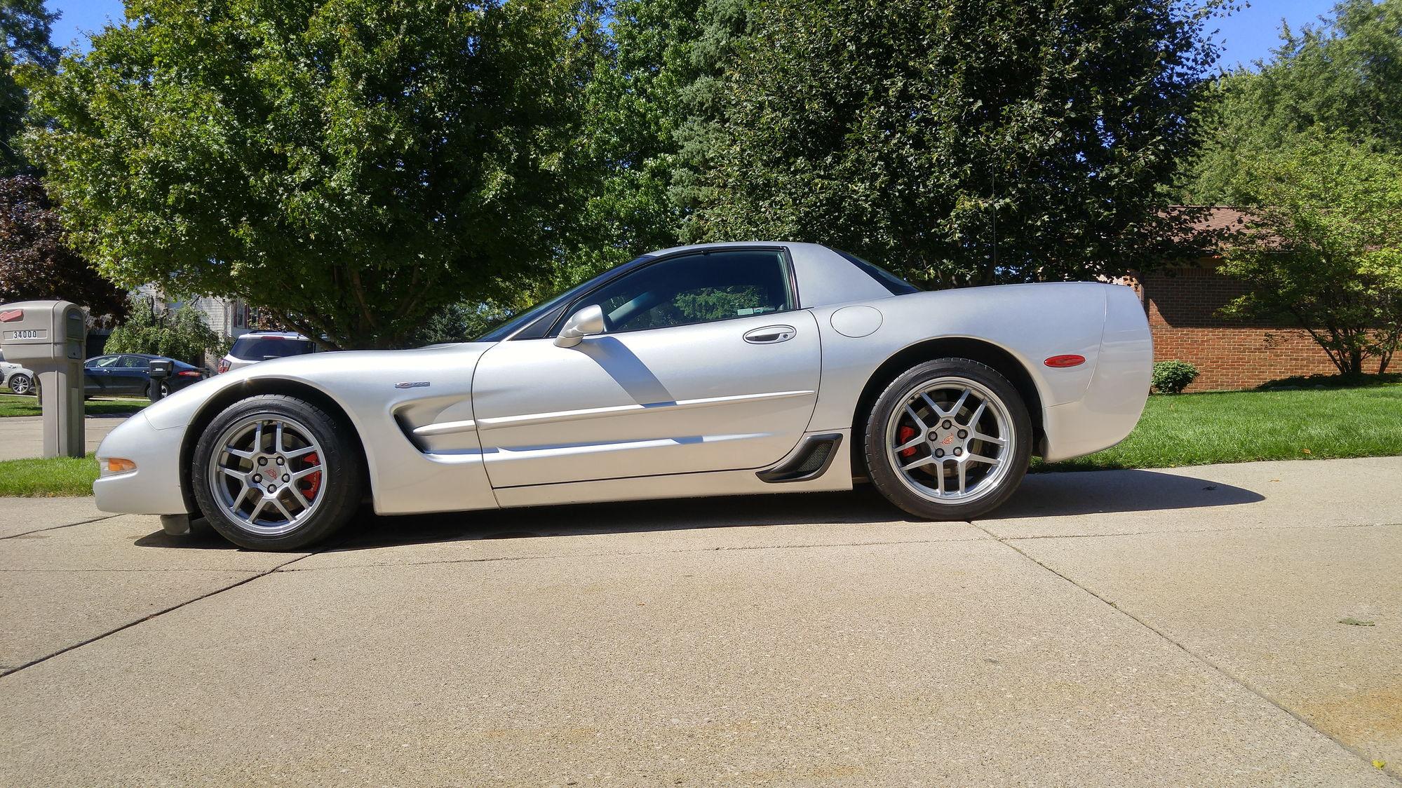 2001 Silver C5 Z06 52k Miles 18 900 Corvetteforum
