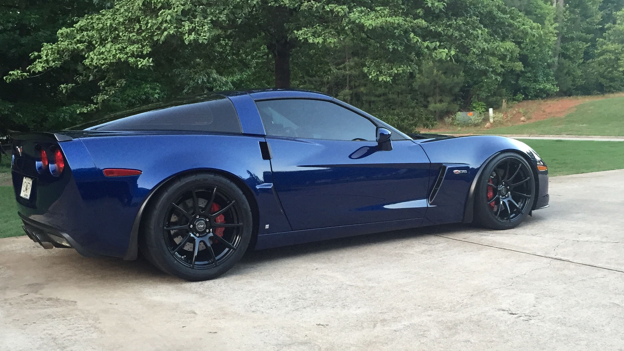 Lemans Blue Z06 S Corvetteforum Chevrolet Corvette
