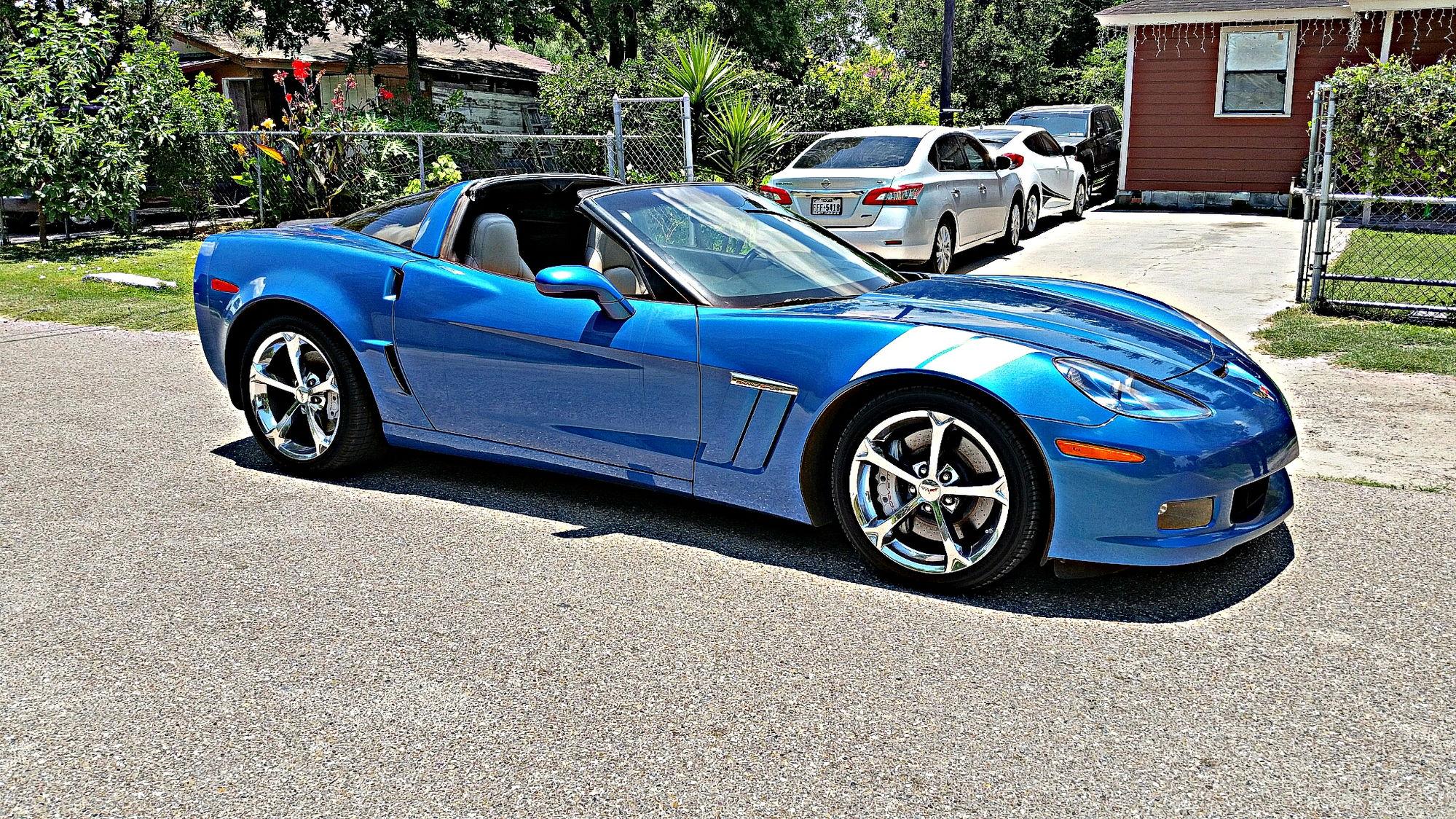 Im new to the corvette scene and i just recently got myself a 2011 corvette grand sport i always wanted a corvette grand sport and now it literally just