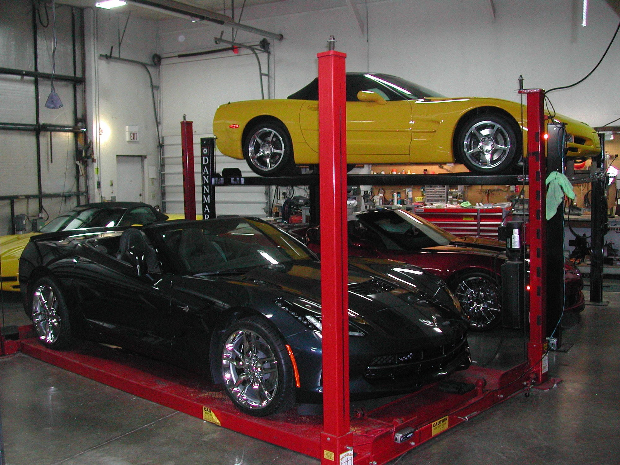 got a lift in your garage show it off corvetteforum