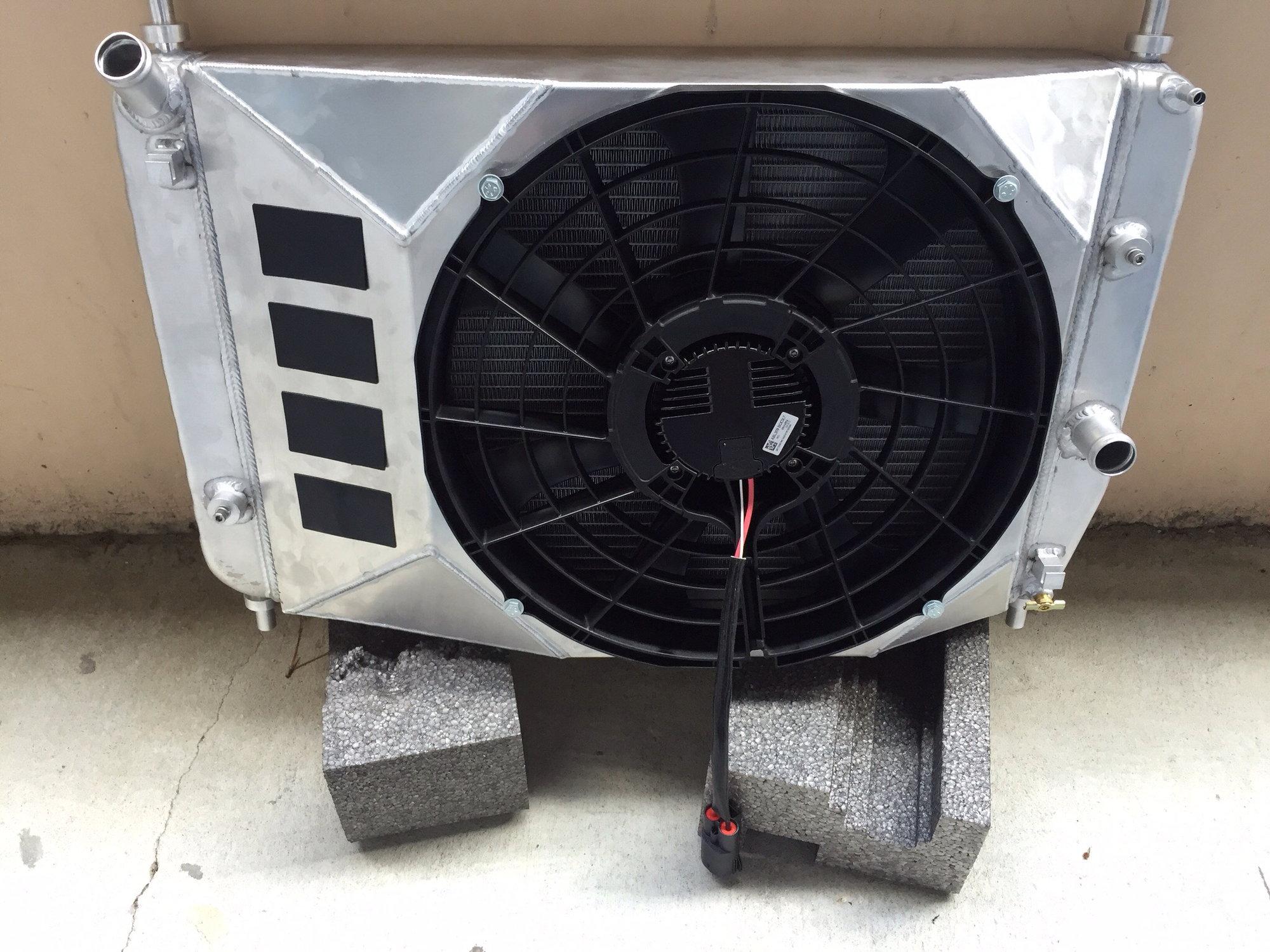 Dewitt Radiators Corvette Electric Fan Wiring Diagram Library