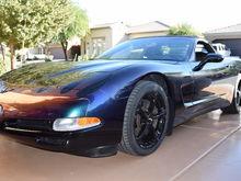 2000 Triple Black Vette Custom