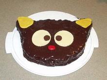 choco cat cake1