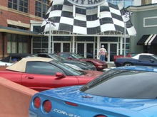 at the Classic Glass poker run