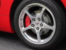 New Rear Rotors and Caliper Covers