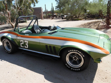 https://phoenix.craigslist.org/nph/cto/d/carefree-1965-corvette-vintage-solo-2/6784590022.html 1965 Chevrolet Corvette Convertible - Vintage Solo 2 Race Car - This 1965 Chevrolet Corvette Convertible is straight out of the pages of SCCA Racing History. Owned by Jack McDonald, an early inspiration to the now famous NASCAR champion Jeff Gordon. Jack McDonald, his famous 1965 Chevrolet Corvette Convertible he named Peas and Carrots brought him the American Championship in 1977. Jack McDonald bec