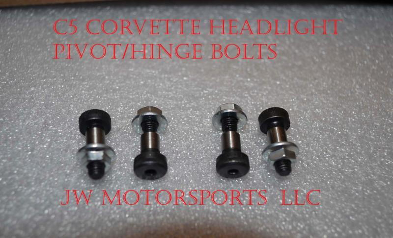 Headlight Pivot Bolts - CorvetteForum - Chevrolet Corvette