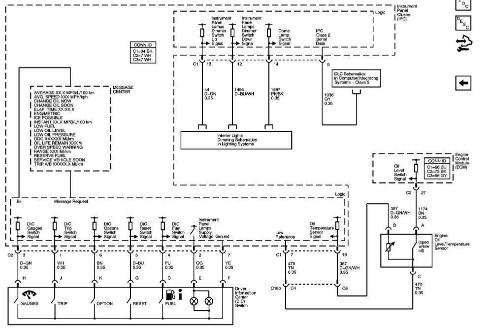 Cluster Wiring Diagram Anyone Corvetteforum Chevrolet Corvette Forum Discussion