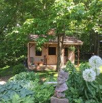 Alliums and Hostas