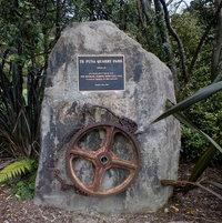 Park opening plaque