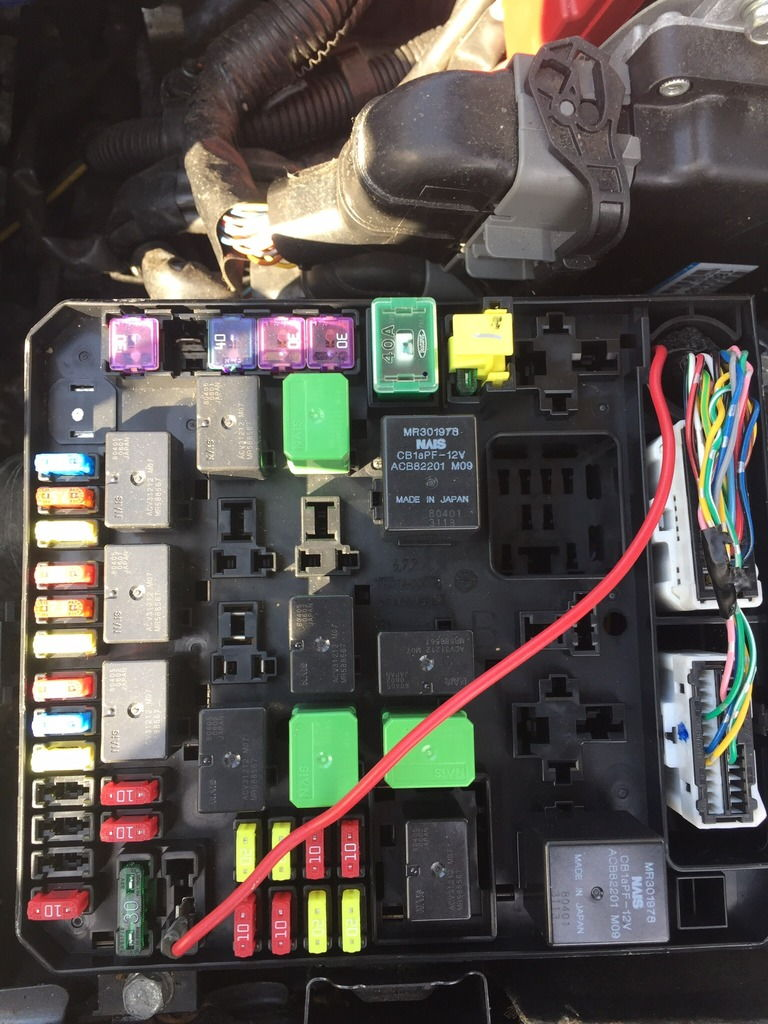 Engine Bay Fuse Box Question 08 Mr