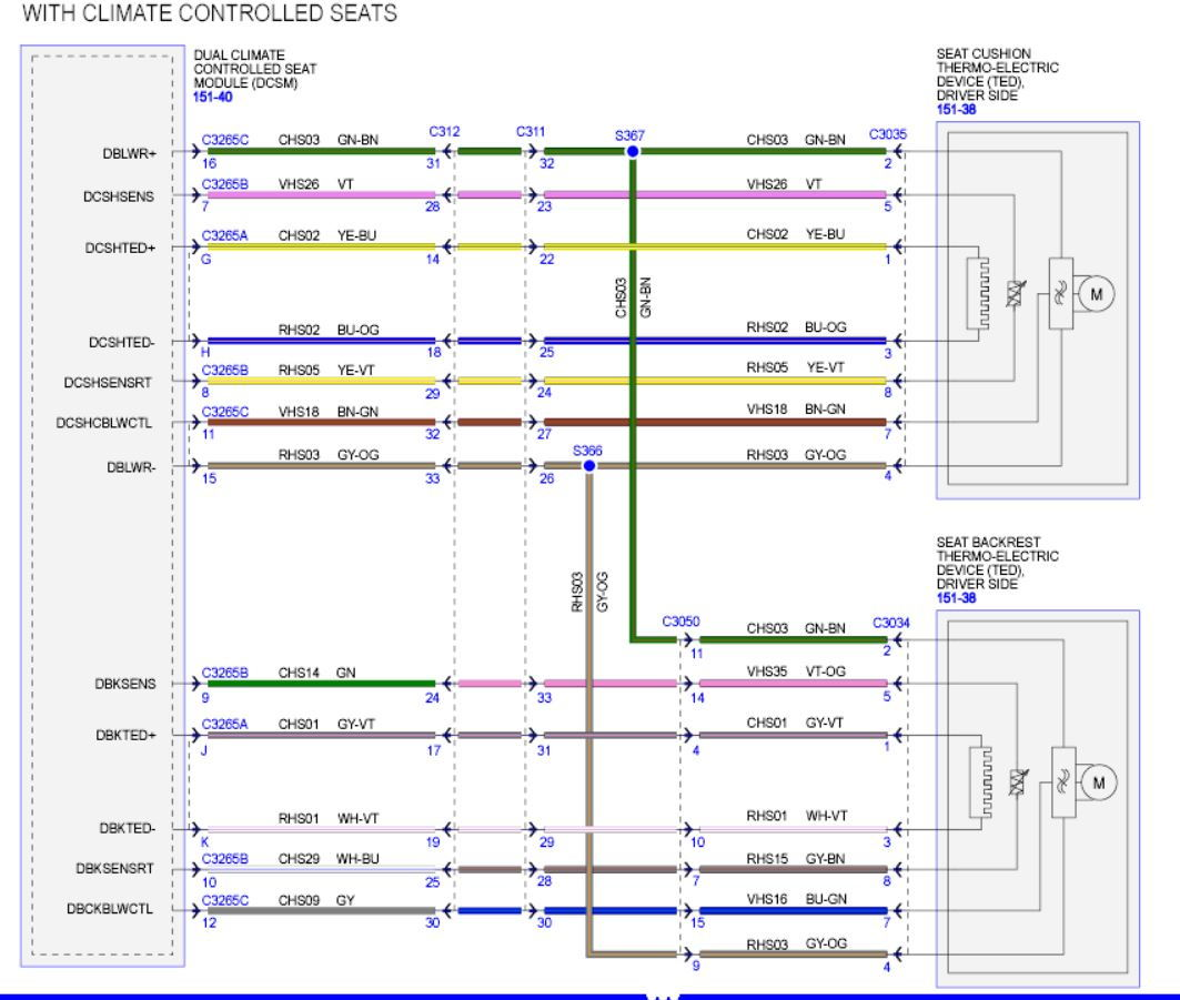 heated/cooled seats - heated not working - ford f150 forum ... ford explorer heated seat wiring diagram  ford f150 forum
