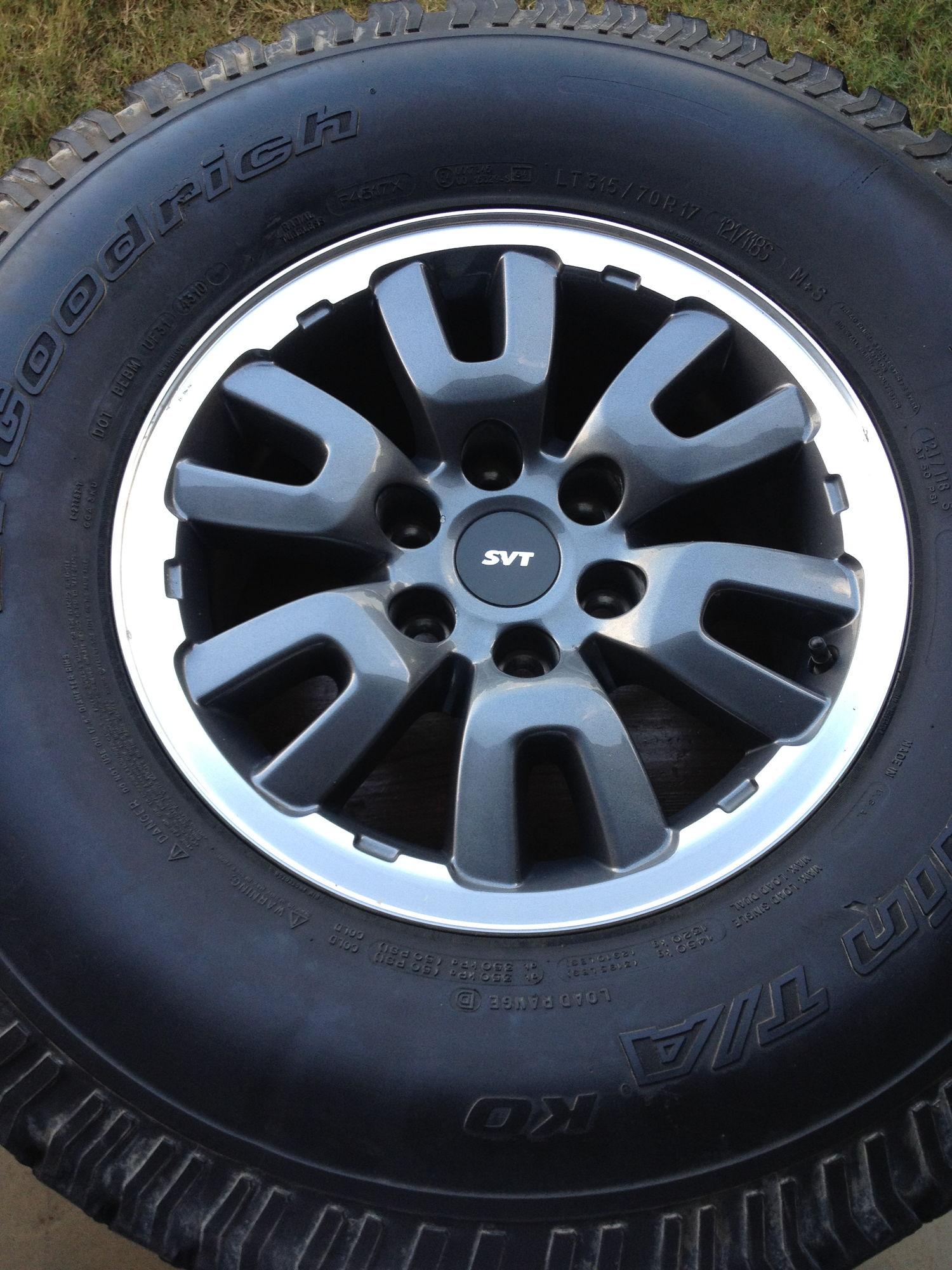 2014 Ford F 150 Svt Raptor >> Southeast RAPTOR SVT WHEELS 1st GEN - Ford F150 Forum - Community of Ford Truck Fans